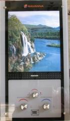 Газовая колонка Savanna 18кВт 10л LCD стекло
