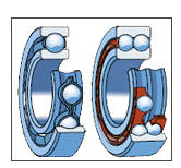 Radial ball-bearings