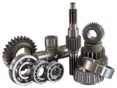 Spare parts for cars of processing of the soil in