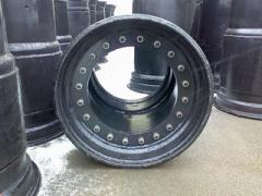 Rims for agricultural machinery Ukraine, molding