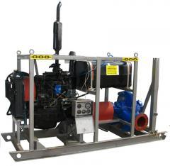Motor-pump diesel for water pumping