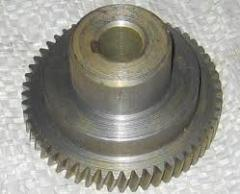 The plug gear for agricultural machinery, molding