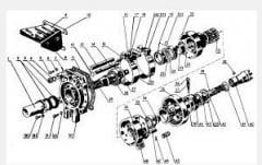 Shaft of selection of power for a tractor, the