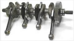 The Krivoshipno-shatunny mechanism for a tractor,
