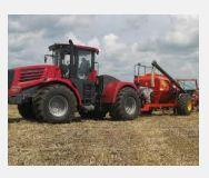 Brakes and management of brakes for a tractor, the