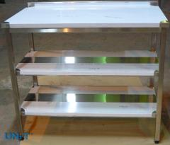 Tables metal for mea