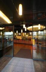 Automatic sliding doors of Tormax