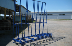 Pyramid for glass. Equipment for glass plants
