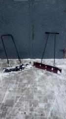 Снегоочиститель, снегоуборщик, ручной грейдер,