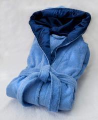 Халаты женские махровые и велюровые (короткие, с