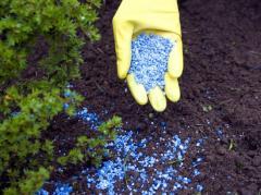 Suspenzirovanny fertilizers, Warehouses in the