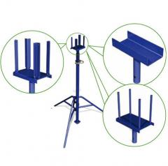 Arm of a rack telescopic
