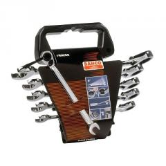 Combined set of keys with ratchet wrenches Bahco