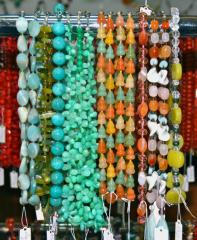 Jewelry of semi-precious stones