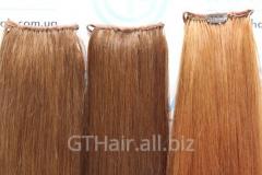 Шиньон - хвост на ленте из натуральных волос ТМ