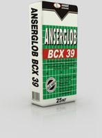 Клей для приклеки пенопласта anserglob всх39 25кг