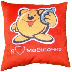 Pillows with a logo. Corporate gifts