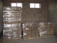 Fuel briquettes for all types of fire chambers and