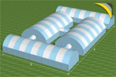 _ Agrokompleks from awning hangars