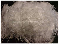 The fiber is the polypropylene, various length,
