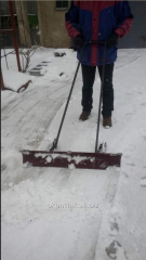 Shovel for snow cleaning, the snow blower, the