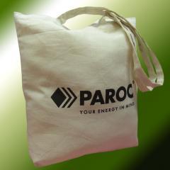 Промо-сумки из натуральной ткани. Сумки тканевые