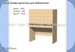 Case card file for library 24028