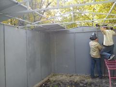 Изготовление металлических гаражей 1,2 мм