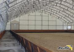 _ Awning a nakrytiya for sports complexes