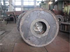 Crusher rotor