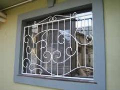 Window lattices and sun blind