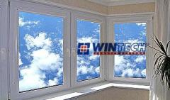 Windows metalplastic, windows from WINTECH PVC