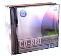 Disk CD-R L-Pro 52x 700MB 80 mines slim Case