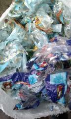 Отходы пленки полипропиленовой