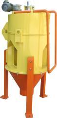 Centrifugal huller, Hullers centrifugal