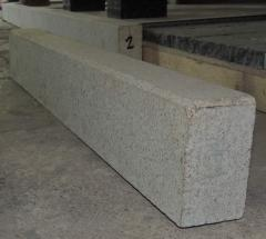 Borders from a natural stone