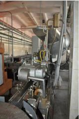 The Zakatochny equipment, cars, installations,