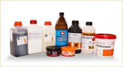 Substâncias químicas para o tratamento do couro
