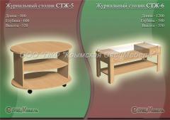 Мебель для пансионатов: Журнальный столик СТЖ-5,