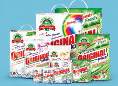Detergents professional: laundry detergent and the