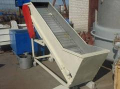 Cars for crushing of root crops of A9-KLG/2,