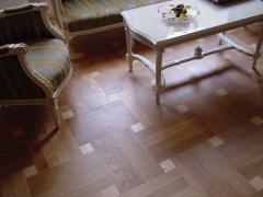 Parquet from an ash-tree, an ash-tree, a piece