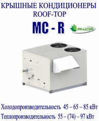 Monoblock roof roof top conditioners