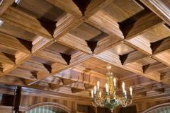 Ceilings wooden, wooden ceilings of a photo,