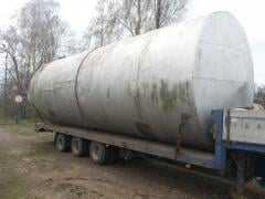 Tanks, barrels for storage of fuels and lubricants