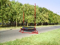 Attraction Trampolines from a bandzha or