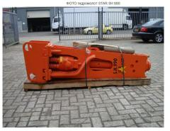 Hydrohammer for eskavator of star sh 990