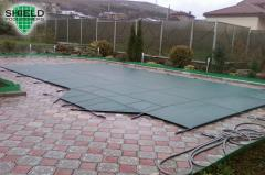 Awning for pond and pool Shield