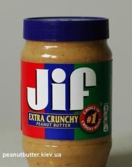 Арахисовое масло (паста) Jif Extra Crunchy 1,13 кг