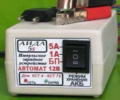 Устройства зарядно-пусковые, АИДА 5s Импульсное